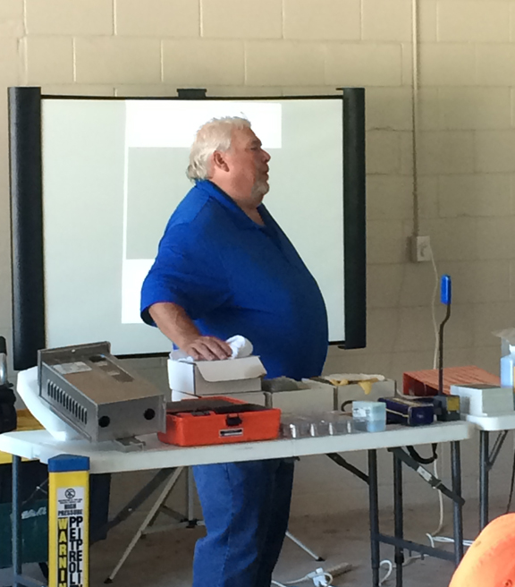 David Regenhardt Of CGS, Inc. And Bob Moore Of Stuart Steel Protection  Brought In Various Products For Hands On Inspection And Qu0026A, Lending  Solutions To The ...